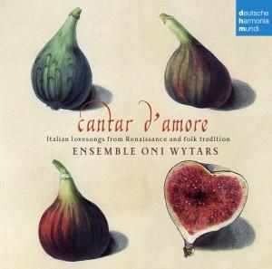 Copertina Cantar D'amore