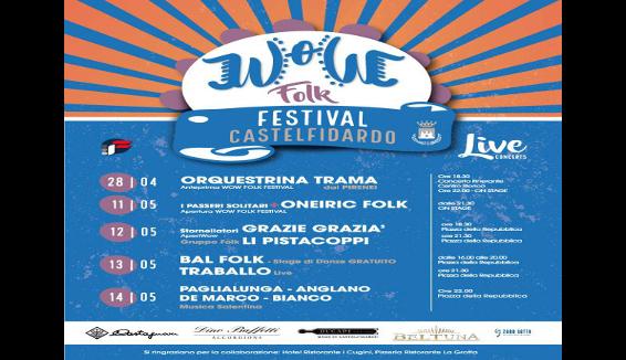 Parte con un'anteprima il primo Wow Folk Festival a Castelfidardo