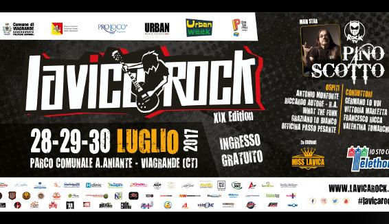 Lavica Rock, a Viagrande la XIX edizione