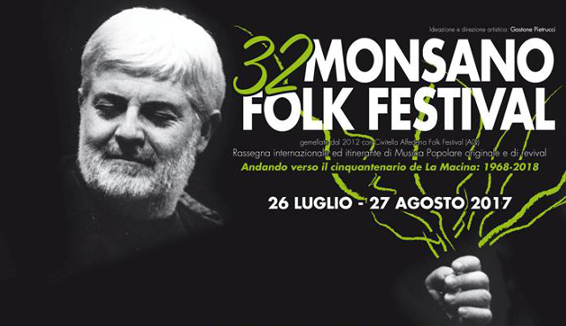 Monsano Folk Festival: dal 26 Luglio l'edizione n°32