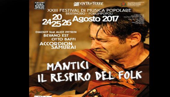 Forlimpopoli: Mantici, Respiro del Folk. XXIII Festival di Musica Popolare