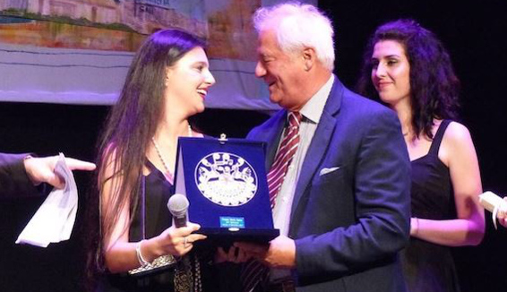 Maria Giovanna Cherchi vince il premio Maria Carta 2017
