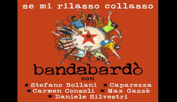 """Bandabardò: per i 25 anni Consoli, Gazzè, Caparezza, Silvestri in """"Se mi rilasso collasso"""""""