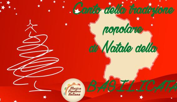 Canto della Tradizione Popolare di Natale della Basilicata