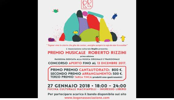 Premio Musicale Roberto Rizzini, per il patrimonio popolare veneto e veronese