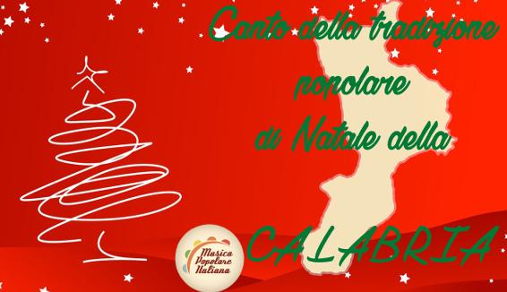 Canto della Tradizione Popolare di Natale della Calabria