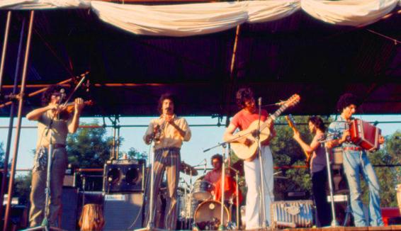 Il Canzoniere del Lazio, folk italiano anni settanta
