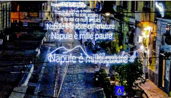 Napul è: la luminaria dedicata a Pino Daniele