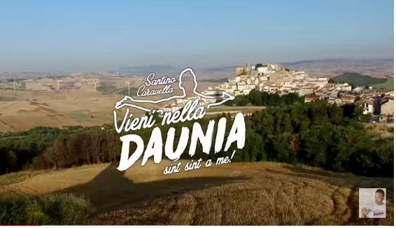 Vieni nella Daunia: la canzone spot per il territorio firmata Santino Caravella