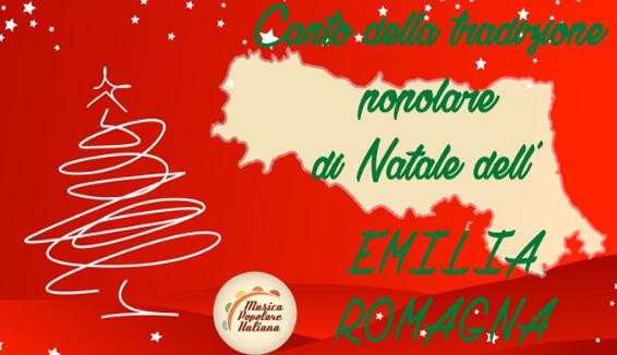 Canto della Tradizione Popolare di Natale dell'Emilia Romagna