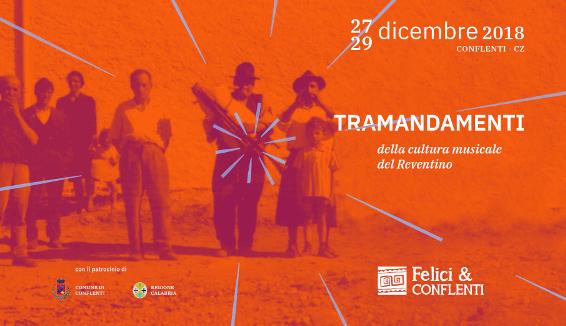 Felici&Conflenti, l'edizione invernale della rassegna di Musica e Cultura Tradizionale