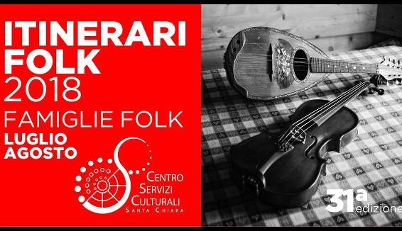 Itinerari Folk, a Trento la 31° edizione