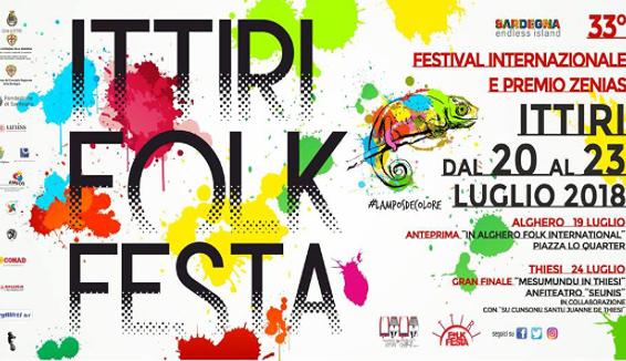 Ittiri Folk Festa, alle porte l'edizione numero 33