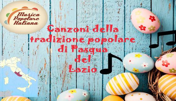Canto della Tradizione Popolare di Pasqua del Lazio