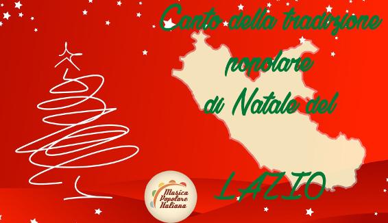 Canto della Tradizione Popolare di Natale del Lazio