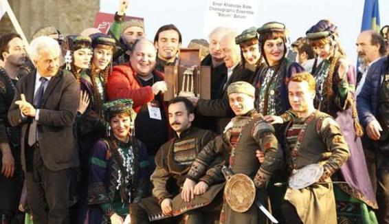 73° Rassegna folk Mandorlo in fiore di Agrigento, vince la Georgia