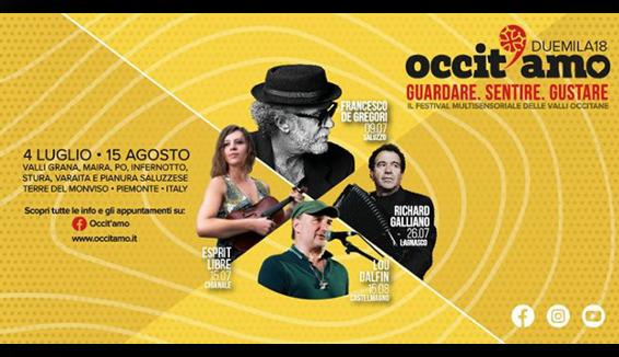 Nelle Vallate del Monviso la danza e musica popolare di Occit'amo