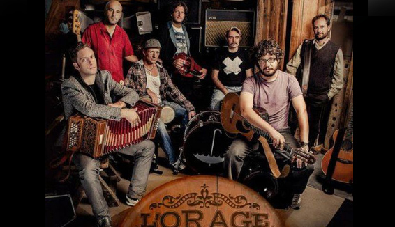La folk band valdostana L'Orage presenta il nuovo disco