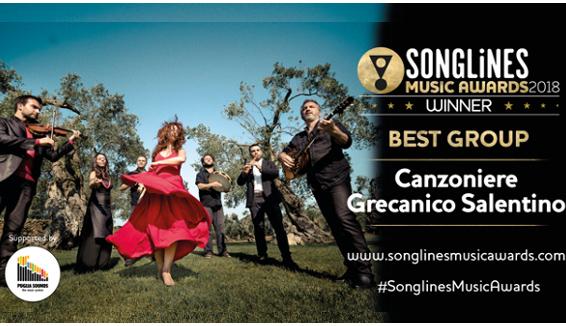 L'Oscar della World Music al Canzoniere Grecanico Salentino: è il miglior gruppo al mondo