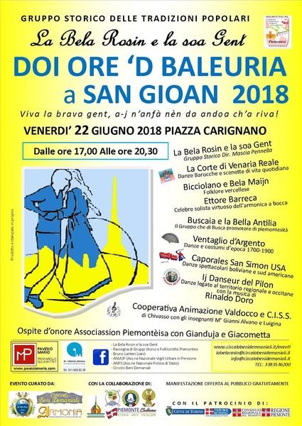 Rassegna di Gruppi storici e Folk @ Torino