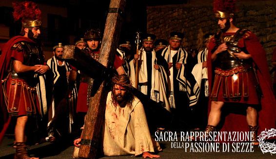 Passione di Sezze, la sacra rappresentazione ospita il consigliere Unesco