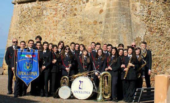 La Banda Musicale ACM Apollonia Pollina e Finale su Musica Popolare Italiana