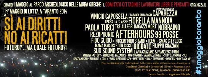 Concerto 1 Maggio 2014 a Taranto