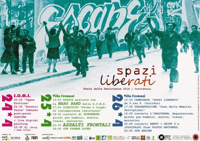 Spazi Liberati su Musica Popolare Italiana