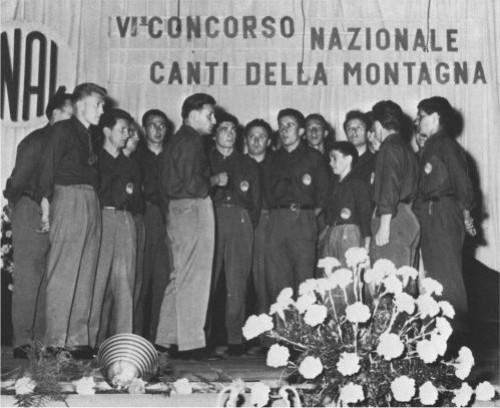 Su musica popolare italiana il Coro Grigna