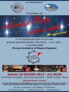 Mondial Party Sotto Le Stelle su Musica Popolare Italiana