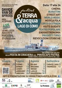 Festival Terra e Acqua Lago di Como su Musica Popolare Italiana