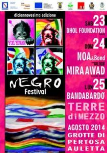 Negro Festival 2014 su Musica Popolare Italiana