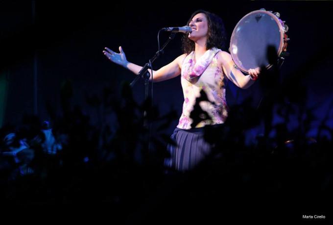 La cantante di Enna Francesca Incudine su Musica Popolare Italiana