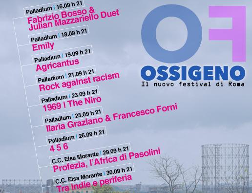 Su musica popolare italiana Ossigeno a Roma