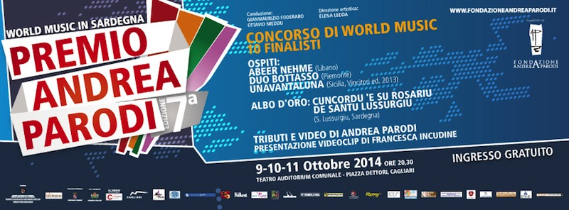 Concorso di World Music Andrea Parodi