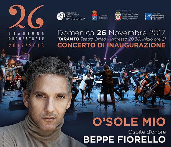 O Sole Mio: una serata dedicata alle canzoni napoletane a Taranto