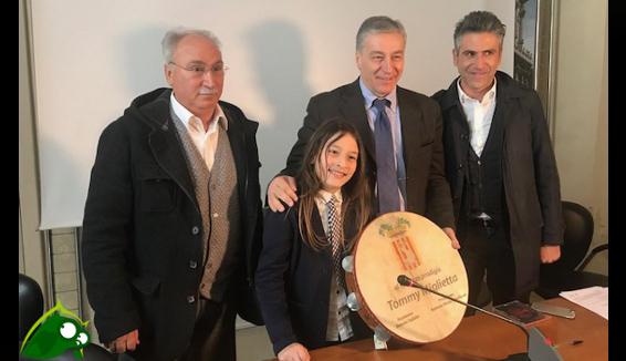 Tommy, il giovanissimo talento salentino premiato a Lecce