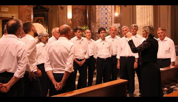 Coro Valsassina: parte il tour estivo
