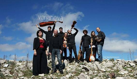 """Vorianova: il gruppo dialettale siciliano presenta il nuovo album """"Pàrtiri"""""""