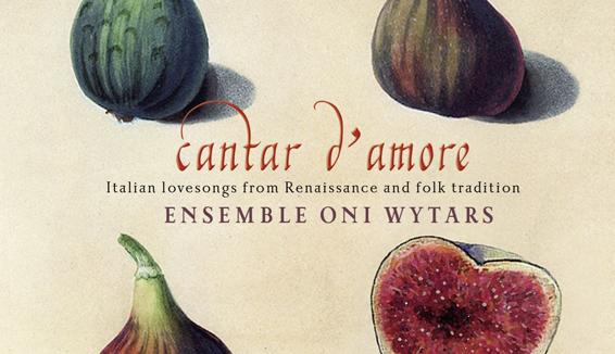 Cantar D'amore – Il nuovo CD di Oni Wytars e Gabriella Aiello