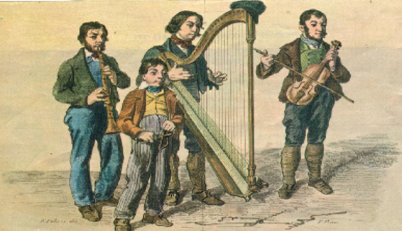 Viggiano's harp: the indissoluble bond between land and music