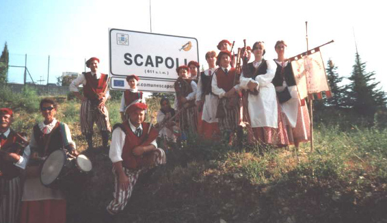 Scapoli: capitale della Zampogna dal 1975