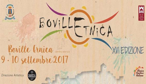 Boville Etnica, XVI edizione il 9 e 10 Settembre