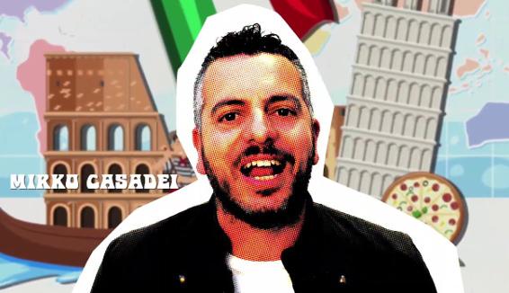 Mirko Casadei contro il Coronavirus per la raccolta fondi regionale: Simpatici Italiani