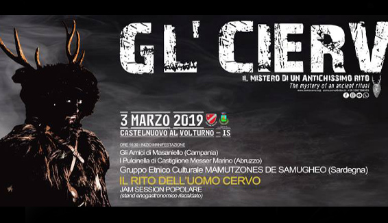 Gl' Cierv: l'antichissimo rito di Carnevale si ripete a Castelnuovo al Volturno