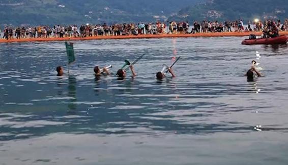 Fanfara di Rogno, l'inno degli Alpini nel lago d'Iseo