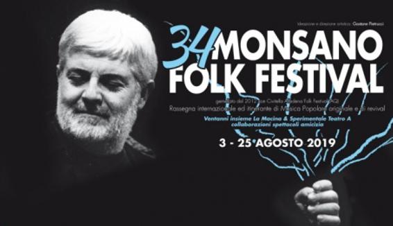 Monsano Folk Festival, 34° edizione