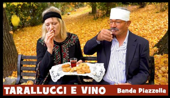 Tarallucci e Vino, il nuovo video di Banda Piazzolla