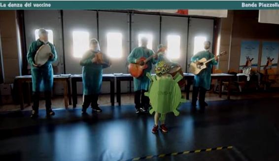 Tammurriata del vaccino: la Banda Piazzolla per la campagna vaccinale