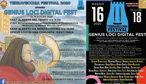 Pietramontecorvino: il Genius Loci Fest è online dalla pagina Terravecchia Festival